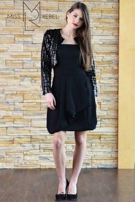 VARIA ruha fekete