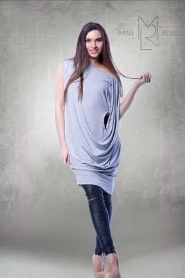 17541 Króm ruha szürke