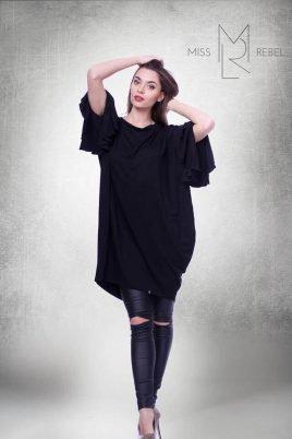 1808 Csilla ruha fekete