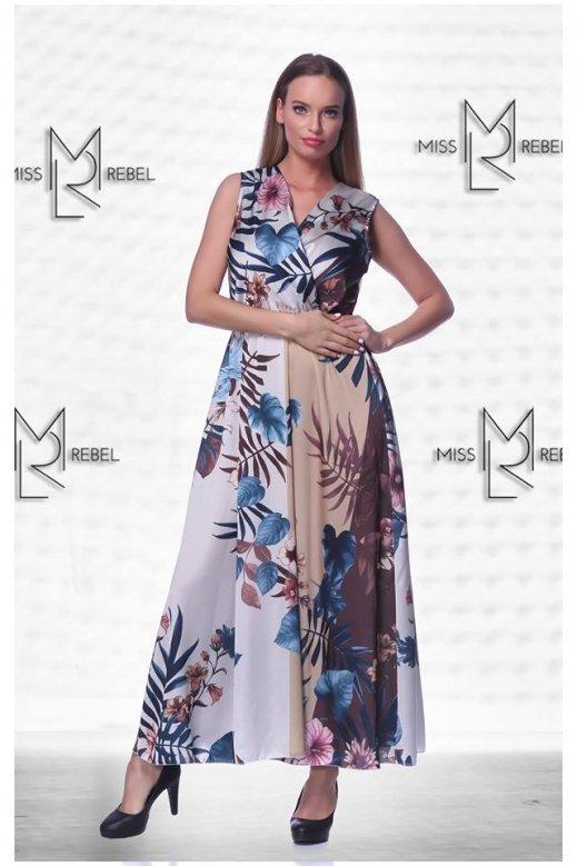 1-013 Piran ruha kék mintás