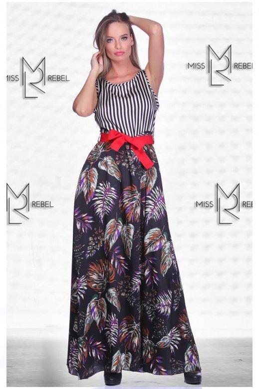 1-024 Spezia ruha fekete mint S,M