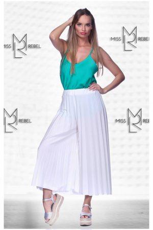 RAVENNA nadrág-szoknya fehér