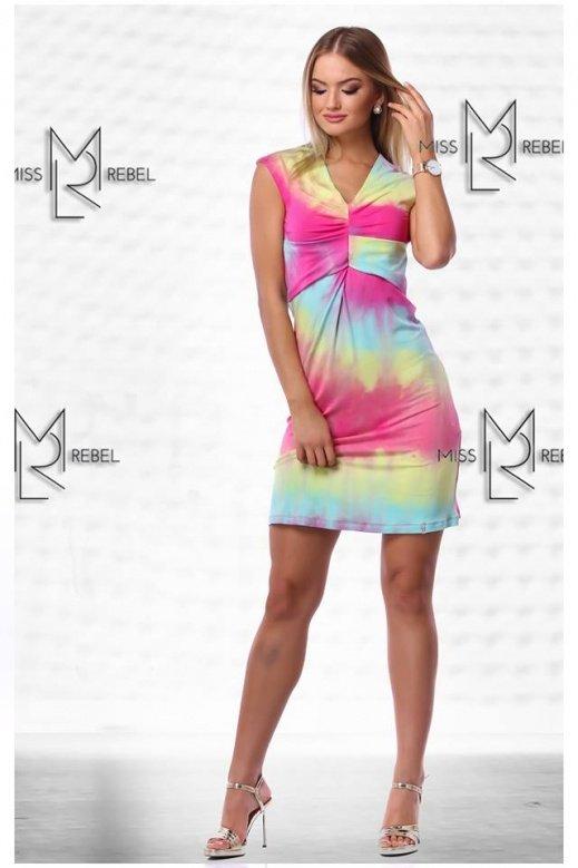 MR 156-2-1 Milva ruha Pink SM,LXL