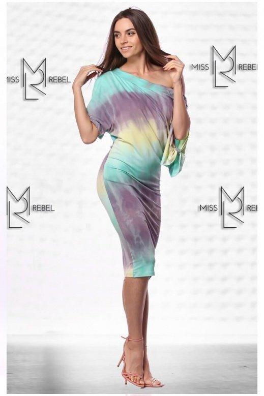 MR020-4 Donna batikolt türkiz S,M,L,XL
