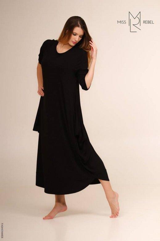 MR002Viktória ruha Fekete