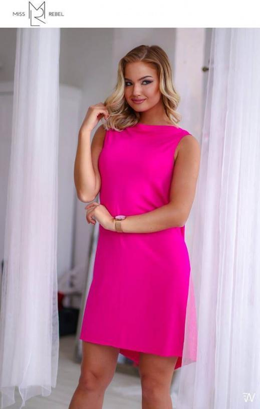 Bona ruha pink S,M,L,XL nkár-5990, kkár 11990
