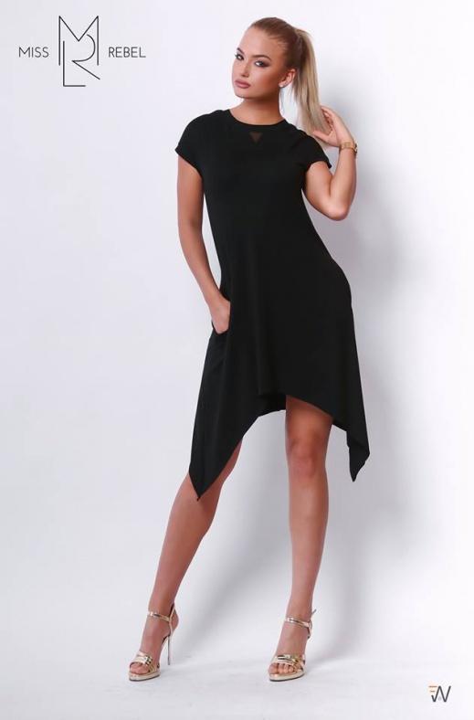 Vivien ruha fekete SM,L-XL,XXL,XXXL