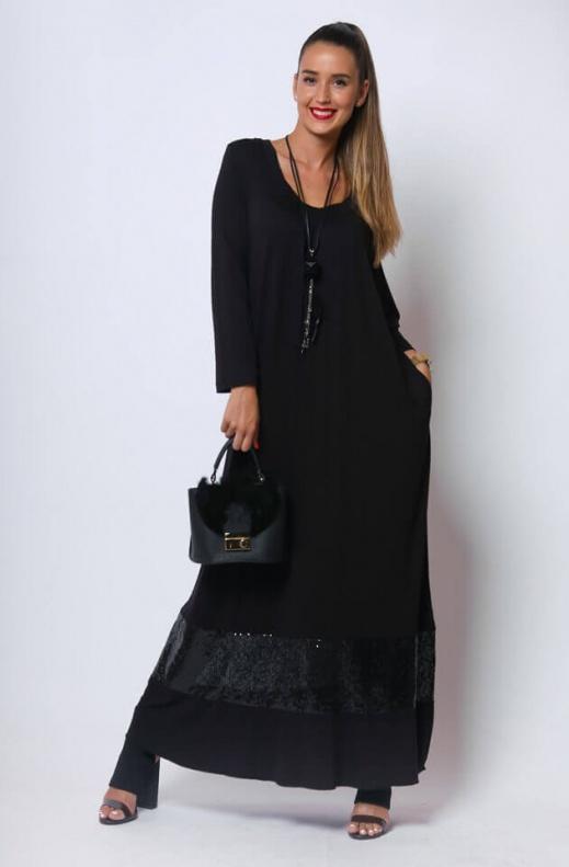 003 Seherezádé ruha fekete1